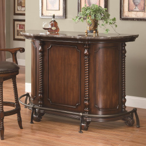 100670 Traditional Bar Unit with Marble Top