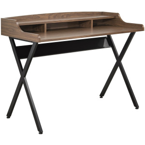 Desks Writing Desk with 3 Compartments & 1 Shelf